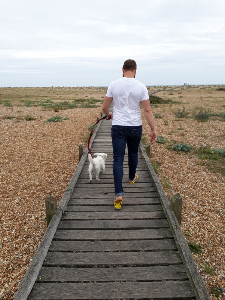 Walkies at Dungeness